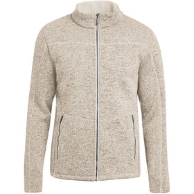 Maier Sports Carbis Fleece Jacke Herren pelican
